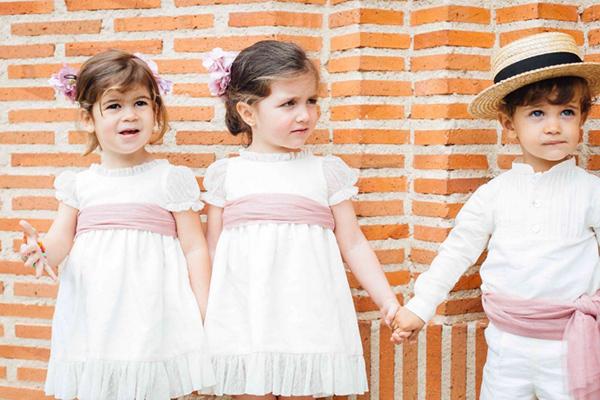 ropa de niños para bodas
