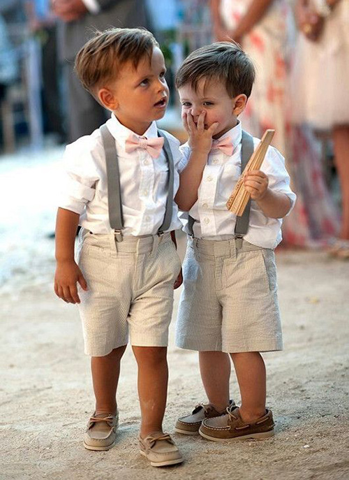 ropa para niños para bodas