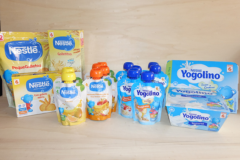 comidas para llevar de Nestlé Bebé España