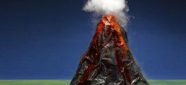 Cómo hacer un volcán casero para niños (paso a paso)
