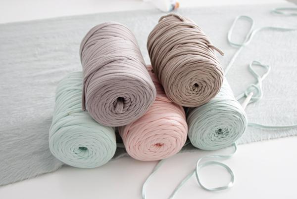 alfombra trapillo nudos