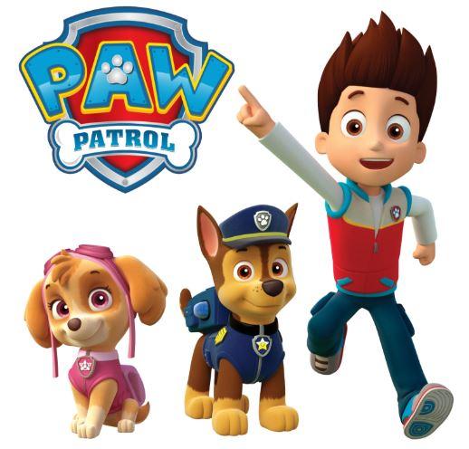 dibujos animados patrulla canina para colorear