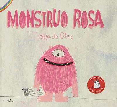 libros niños 8 años - monstruo rosa