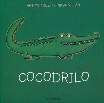 libros para educar a niños de 2 a 5 años - cocodrilo