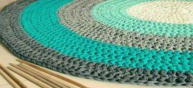 7 patrones gratis para hacer alfombras de trapillo (fáciles)