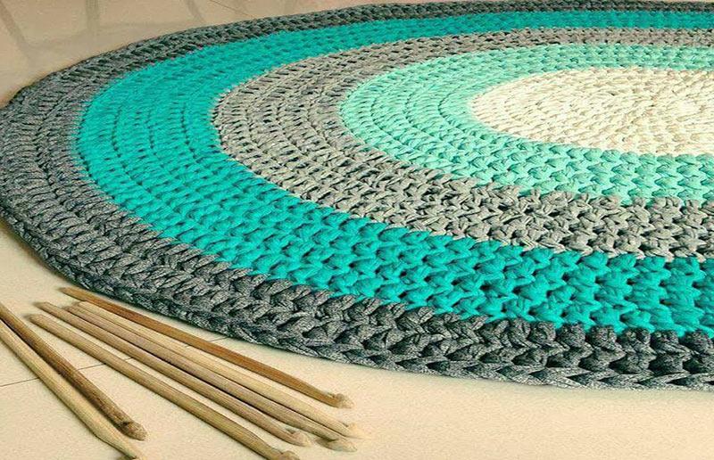 patrones para alfombras de trapillo