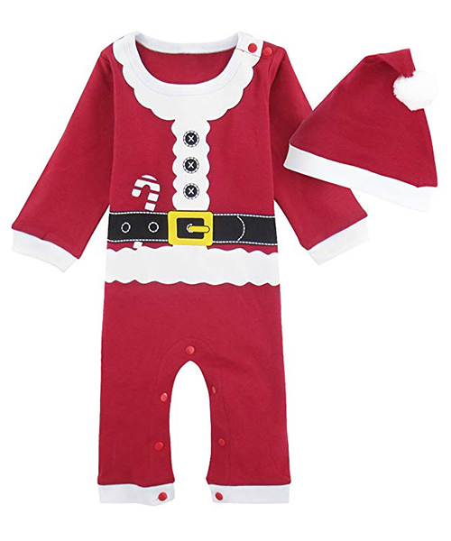 ropa de navidad para bebé amazon