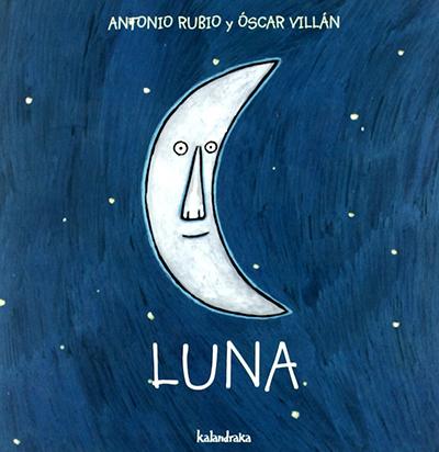 vocabulario español para niños - libro luna