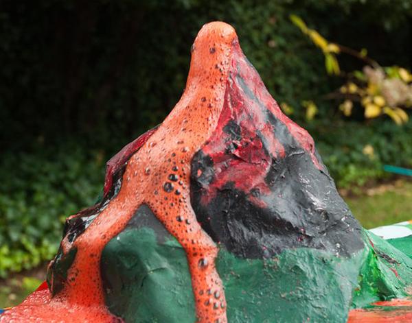 volcanes para niños de primaria