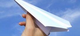 Cómo hacer aviones de papel que vuelen mucho