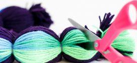 Cómo hacer pompones de lana paso a paso