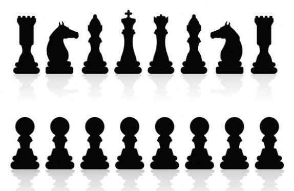 cuales son las fichas del tablero ajedrez