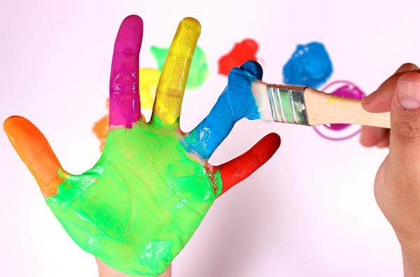 dibujos de manos para colorear