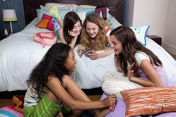 fiesta de pijamas niñas