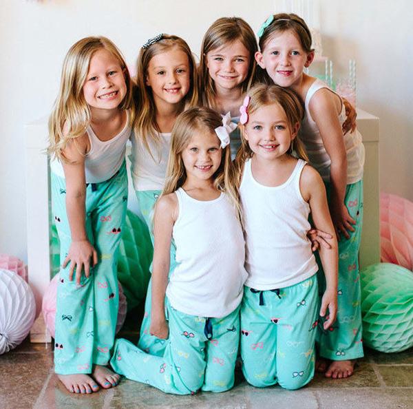 fiestas de pijamas americanas