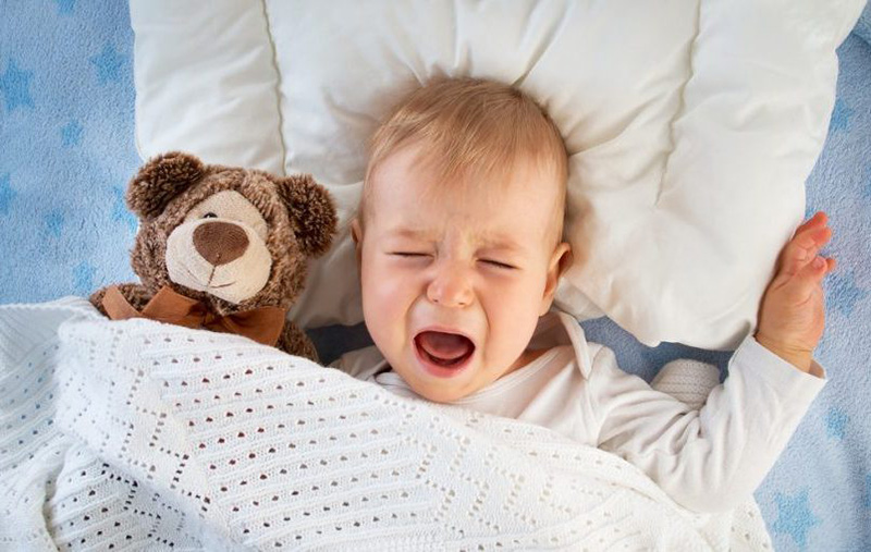 mi bebé no duerme bien
