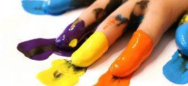 Como hacer pintura para niños (casera) de forma sencilla