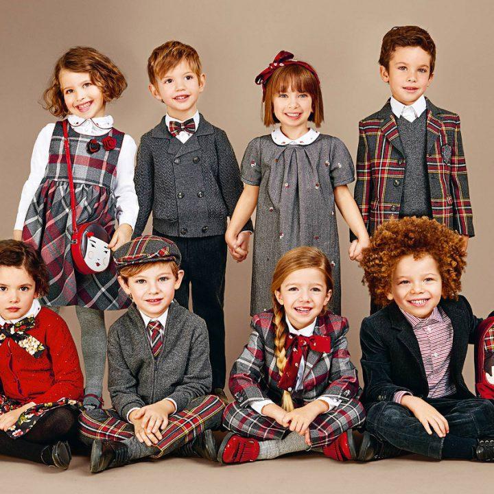ropa de niños de invierno tendencias