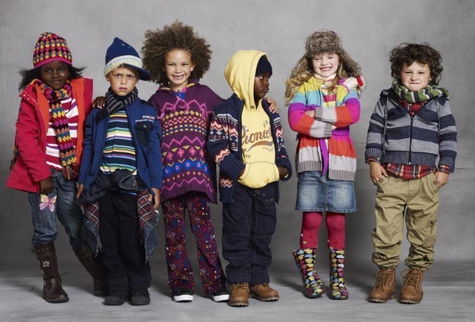 tendencias de moda para niños en invierno