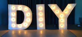 Cómo hacer letras luminosas con cartón (paso a paso)