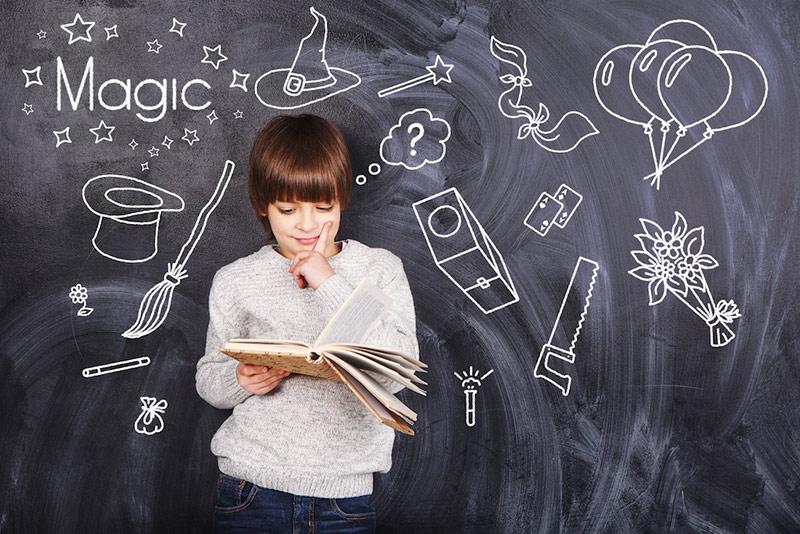trucos de magia fáciles para niños