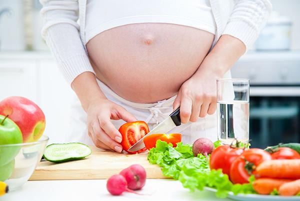 alimentación adecuada para embarazadas
