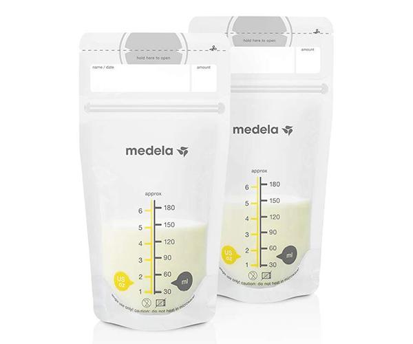 bolsas leche materna medela