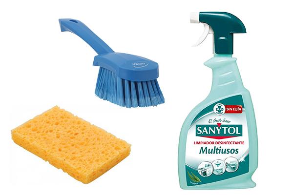 limpiar bañera antideslizante productos