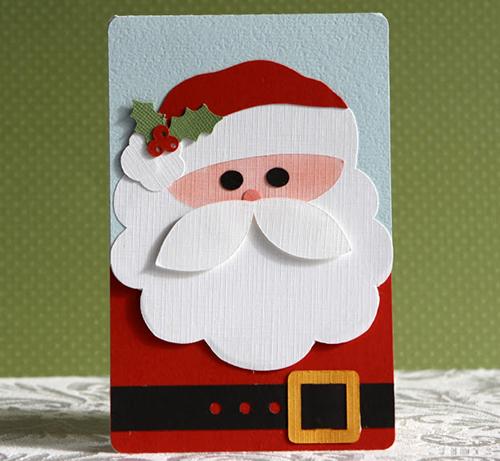 como hacer una postal navideña
