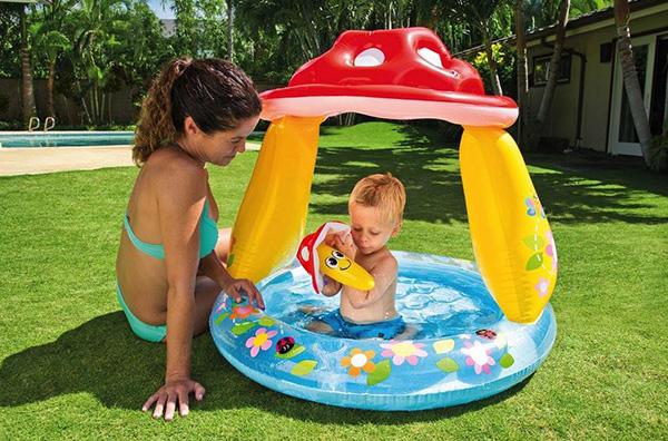 piscinas hinchables jardín