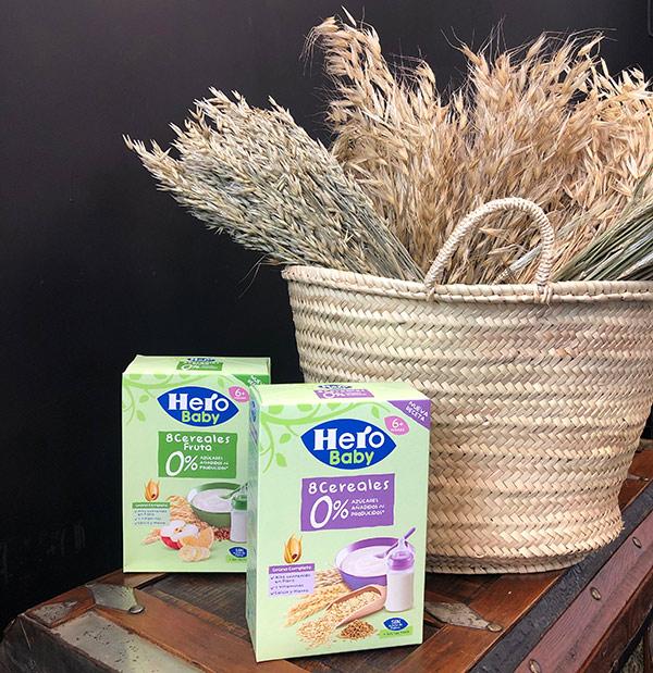cereales fortificados en Hierro Hero Baby