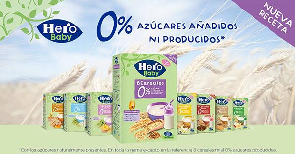 cereales hero baby sin azucar gama catalogo