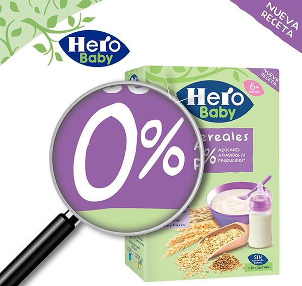 cereales para bebés Hero Baby