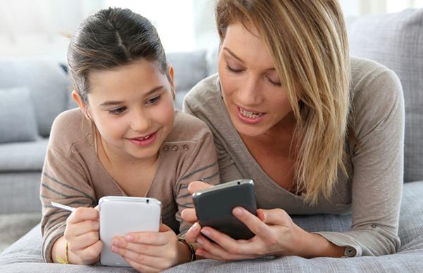 uso del móvil en niños