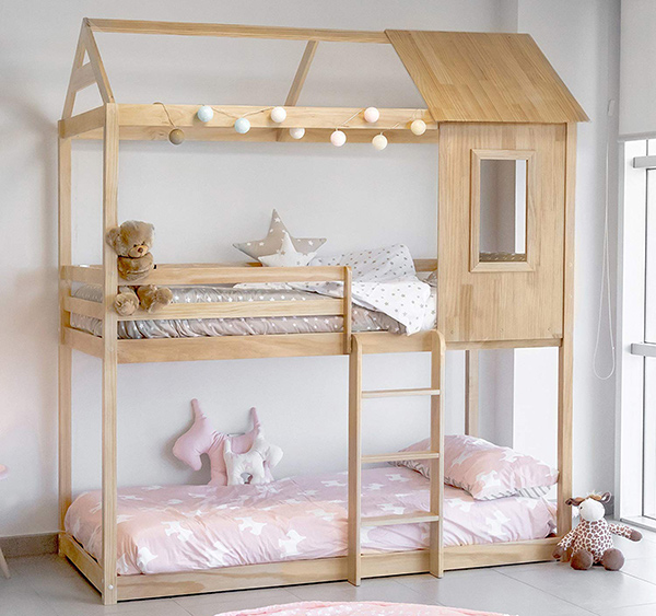 cama montessoriana para bebés