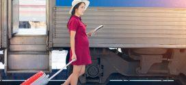 ¿Se puede viajar en tren estando embarazada?