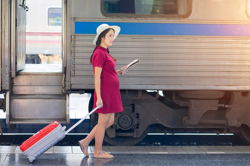 hasta que mes puedo viajar embarazada