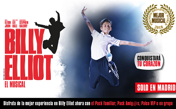 ficha técnica billy elliot madrid