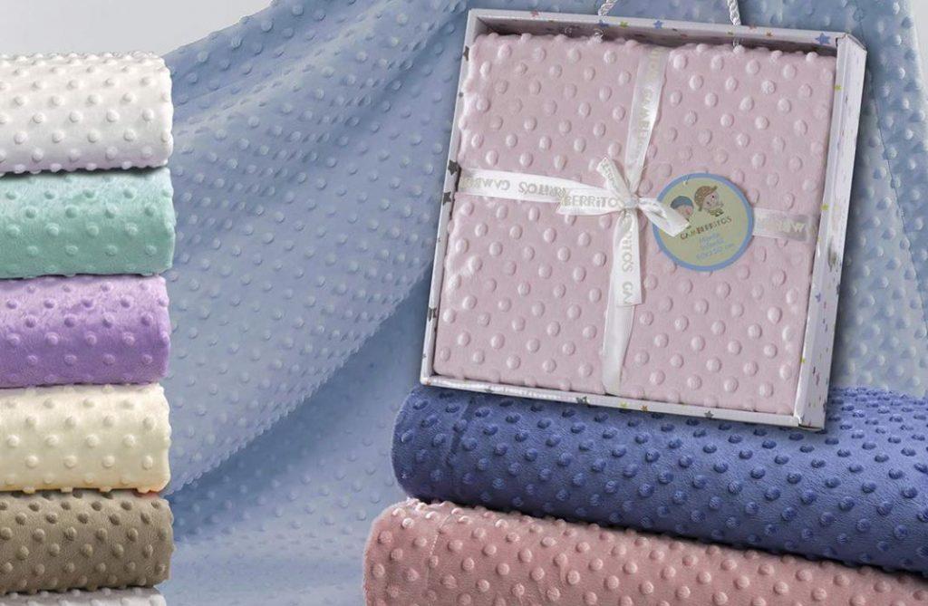 manta de bebe bordada personalizada
