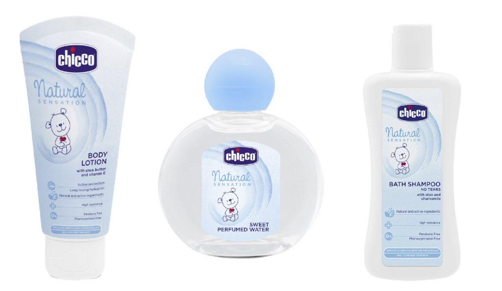 productos de aseo personal para recien nacidos chicco