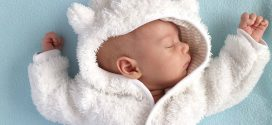 Cómo vestir a un bebé en invierno