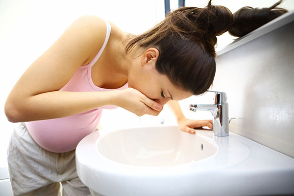 perder peso en el embarazo sin vomitos