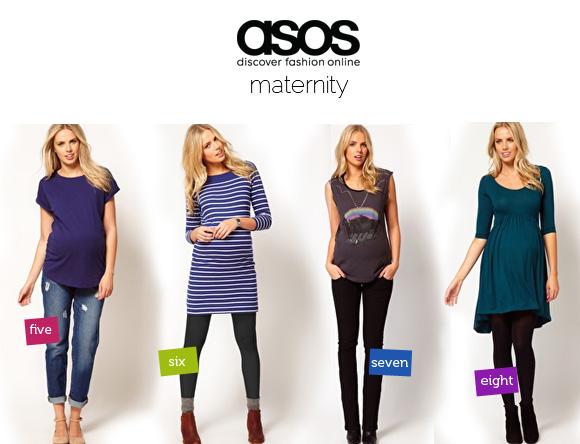 ropa premama barata asos maternity