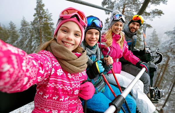 vacaciones con hijos adolescentes