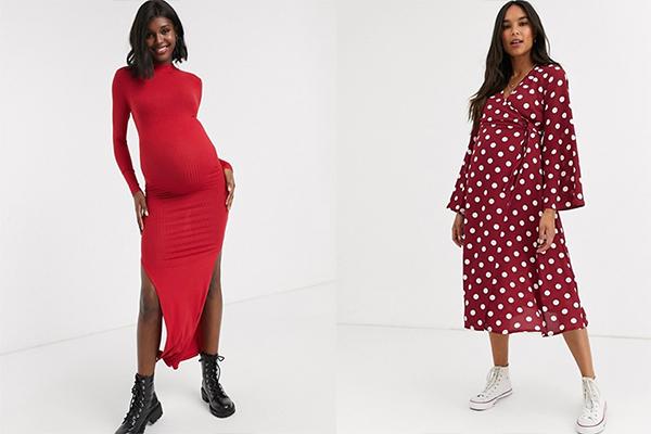 vestidos asos maternity