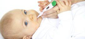 Fiebre en bebés; Causas, síntomas y soluciones