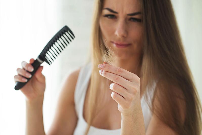 caída del cabello embarazo