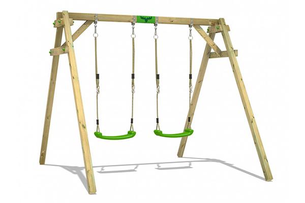 columpio de madera para adultos