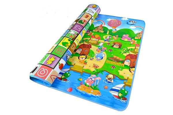 alfombra de goma eva para niños