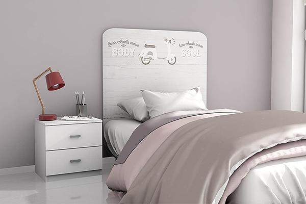 cabecero cama 90 infantil